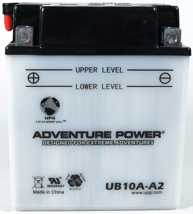 UPG Adventure Power Lead-Acid Conventional: UB10A-A2, 11 AH, 12V