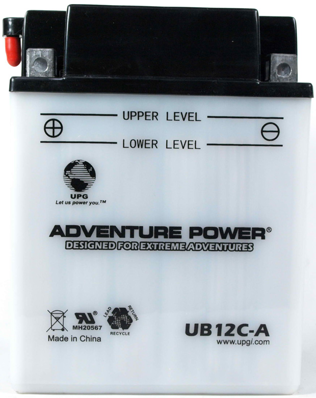 UPG Adventure Power Lead-Acid Conventional: UB12C-A, 12 AH, 12 V