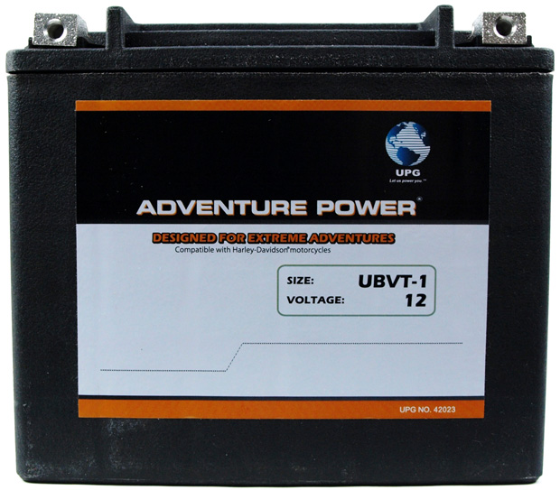 UPG Adventure Power Sealed Lead Acid: UBVT-1, 18 AH, 12V