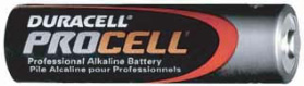 UPG Security Solutions Duracell/Procell AA Alkaline Bulk: PC1500, 24/144