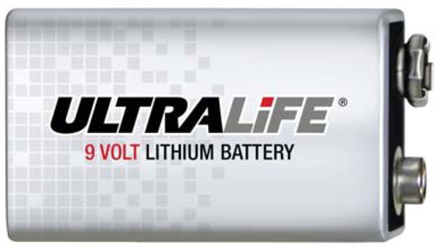 UPG Security Solutions Primary Lithium Battery: U9VL-J