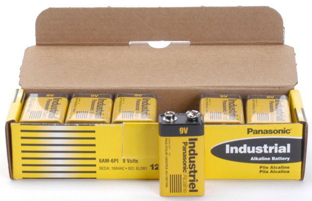 UPG Security Solutions Industrial Alkaline Battery: Size 9V, 6AM-6PI