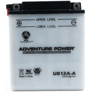 UPG Adventure Power Lead-Acid Conventional: UB12A-A, 12 AH, 12V