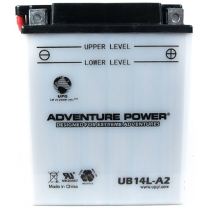 UPG Adventure Power Lead-Acid Conventional: UB14L-A2, 14 AH, 12V