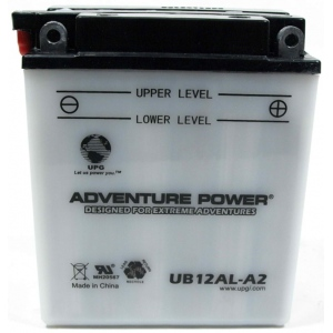UPG Adventure Power Lead-Acid Conventional: UB12AL-A2, 12 AH, 12V