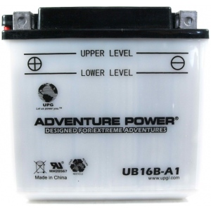 UPG Adventure Power Lead-Acid Conventional: UB16B-A1, 16 AH, 12V