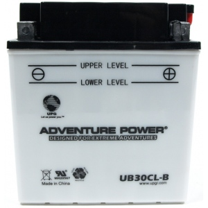 UPG Adventure Power Lead-Acid Conventional: UB30CL-B, 30 AH, 12V