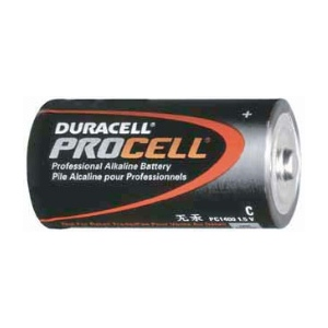 UPG Security Solutions Duracell/Procell C Alkaline Bulk: PC1400, 12/72