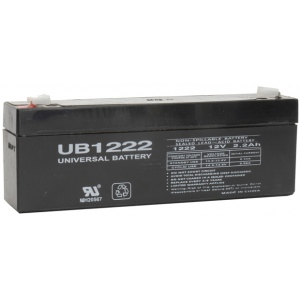 UPG Sealed Lead Acid AGM: UB1222, 2.2 AH, 12V