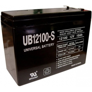 UPG Sealed Lead Acid AGM: UB12100-S, 10 AH, 12V