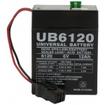 UPG Sealed Lead Acid AGM: UB6120 TOY, 12 AH, 6V