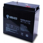 UPG Sealed Lead Acid AGM: UB6420, 42 AH, 6V