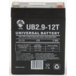 UPG Sealed Lead Acid AGM: UB1229T, 2.9 AH, 12V