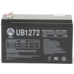 UPG Sealed Lead Acid AGM: UB1272, 7.2 AH, 12V