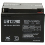 UPG Sealed Lead Acid AGM: UB12260, 26 AH, 12V