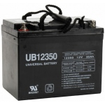UPG Sealed Lead Acid AGM: UB12350 (Group U1), 35 AH, 12V