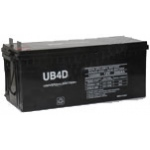 UPG Sealed Lead Acid AGM: UB-4D AGM, 200 AH, 12V