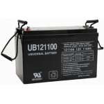 UPG Sealed Lead Acid AGM: UB121100 (Group 30H), 110 AH, 12V, I6