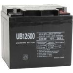 UPG Sealed Lead Acid AGM: UB12500, 50 AH, 12V, L2