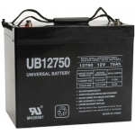 UPG Sealed Lead Acid AGM: UB12750, 75 AH, 12V, I4