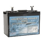 UPG Adventure Power Marine AGM: UB12900 (Group 27), 90 AH, 12V