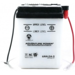 UPG Adventure Power Lead-Acid Conventional: 6N4-2A-5, 4 AH, 6V
