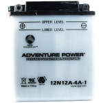 UPG Adventure Power Lead-Acid Conventional: 12N12A-4A-1, 12 AH, 12V