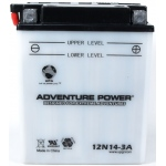 UPG Adventure Power Lead-Acid Conventional: 12N14-3A, 14 AH, 12V