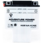 UPG Adventure Power Lead-Acid Conventional: HUB16A-A(AB), 16 AH, 12V