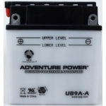 UPG Adventure Power Lead-Acid Conventional: UB9A-A, 9 AH, 12V