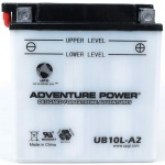 UPG Adventure Power Lead-Acid Conventional: UB10L-A2, 11 AH, 12V