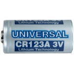 UPG Security Solutions Primary Lithium Battery: CR123A