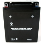 UPG Adventure Power Sealed Lead Acid: UT12C, 10 AH, 12V