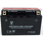 UPG Adventure Power Sealed Lead Acid Dry Charge AGM: UT7B-BS, 6.5 AH, 12V