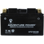 UPG Adventure Power Sealed Lead Acid Dry Charge AGM: UTZ10S-BS, 8.6 AH, 12V