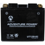UPG Adventure Power Sealed Lead Acid Dry Charge AGM: UT12B-BS, 10 AH, 12V